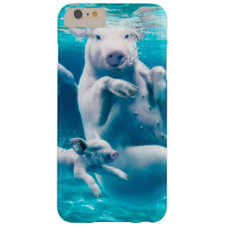 Pig beach - swimming pigs - funny pig barely there iPhone 6 plus case