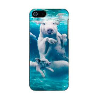Pig beach - swimming pigs - funny pig incipio feather® shine iPhone 5 case