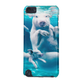 Pig beach - swimming pigs - funny pig iPod touch 5G cases