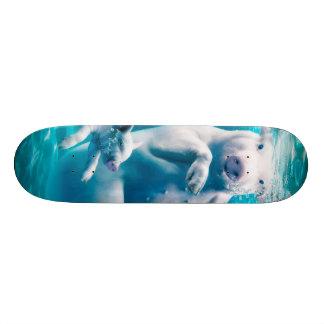 Pig beach - swimming pigs - funny pig skate board deck