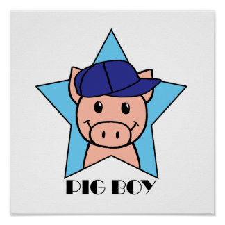Pig Boy Poster
