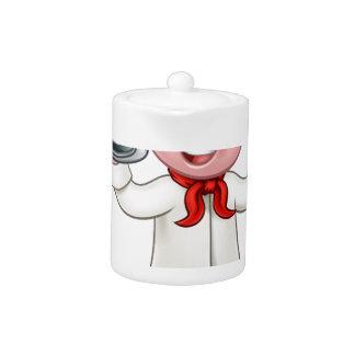 Pig Chef Cartoon Character Mascot