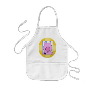 Pig Children's Apron