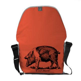Pig Commuter Bags