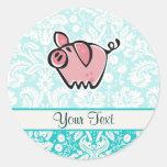 Pig; Cute Sticker
