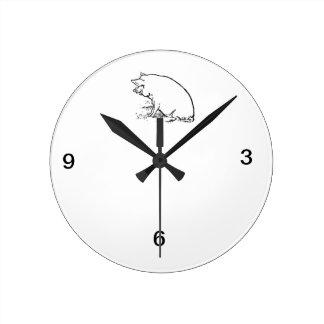 Pig Design Clock