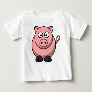 Pig Drawing Baby T-Shirt