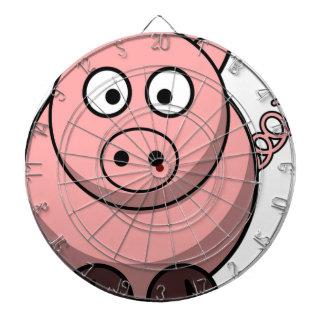 Pig Drawing Dartboard
