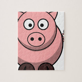 Pig Drawing Jigsaw Puzzle