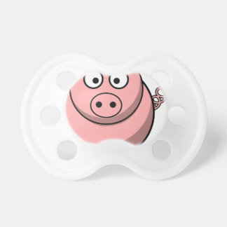Pig Drawing Pacifier