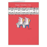 PIG DUET Valentines by Boynton Greeting Card