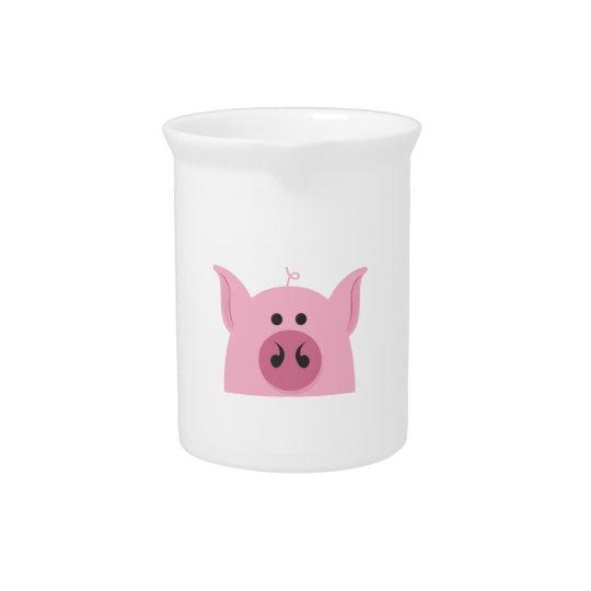Pig Face Beverage Pitchers