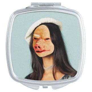 Pig Face Lady Mirror Mirror For Makeup