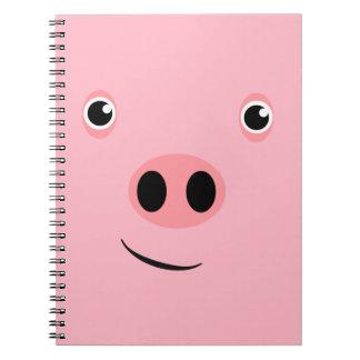 Pig Face Notebooks