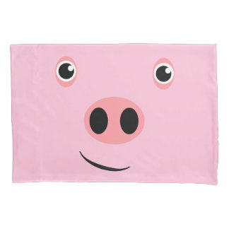 Pig Faced Pillowcase