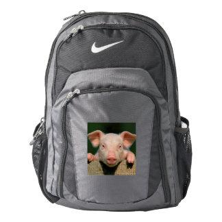 Pig farm - pig face backpack
