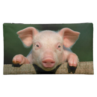 Pig farm - pig face makeup bag