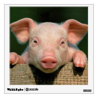 Pig farm - pig face wall sticker