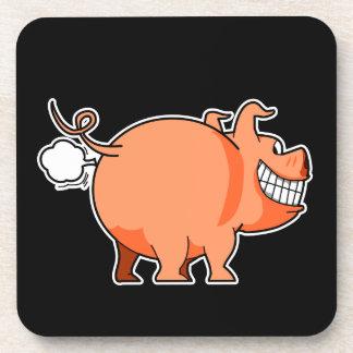 Pig Fart Coaster