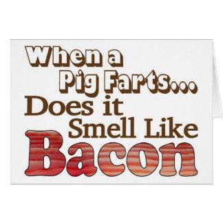 Pig Farts Card