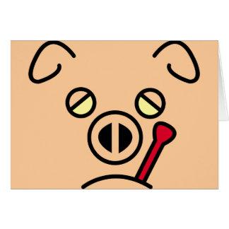 pig fever. card
