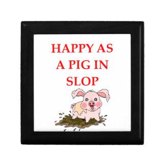 PIG GIFT BOX