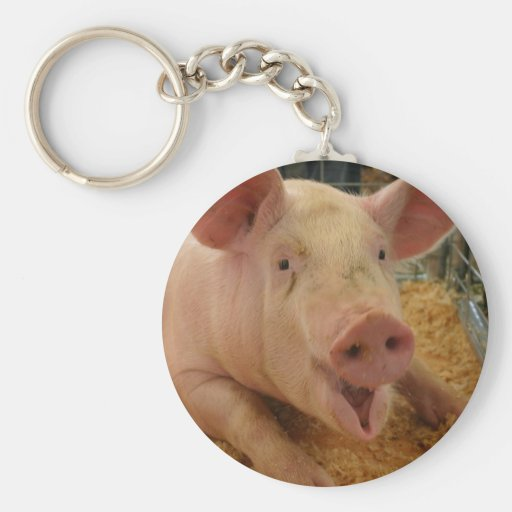Pig Good Luck Key Chains