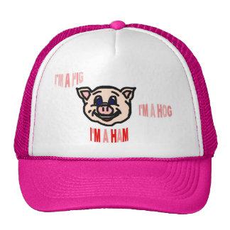 Pig Hog Ham Cap Trucker Hat