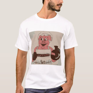 Pig in apron Basic T-Shirt