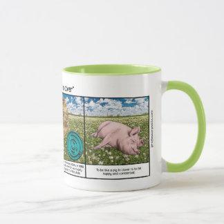Pig in Clover Mug