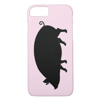 Pig in Silhouette iPhone 8/7 Case