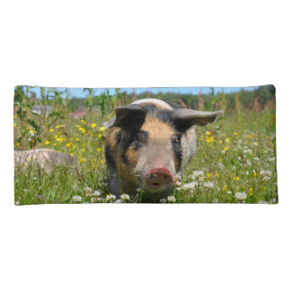 Pig in the Nature Pencil Case