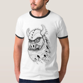 Pig Invader Attack T-Shirt