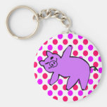 Pig Keychain - Funny Yoga Gifts