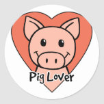 Pig Lover Stickers