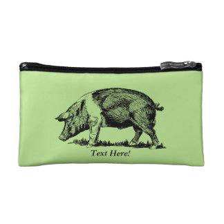 Pig Makeup Bag