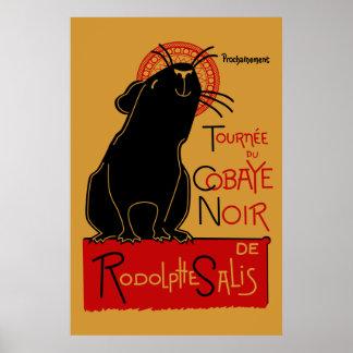 Pig Nouveau Poster