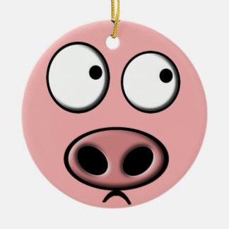 Pig Ornament (double sided)