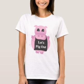 Pig out-tshirt T-Shirt
