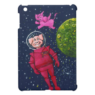 Pig, Raccoon and Pink Elephant iPad Mini Case