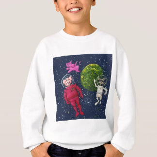 Pig, Raccoon and Pink Elephant Sweatshirt
