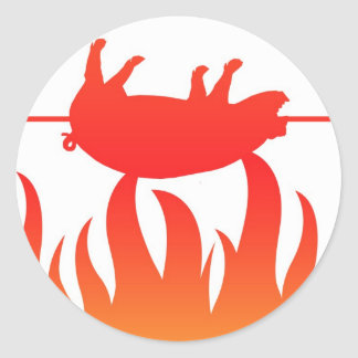 Pig Roast BBQ Sticker