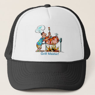 Pig Roast Grill Master Trucker Hat