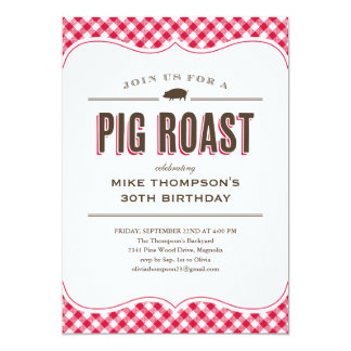 Pig Roast Invitations & Announcements | Zazzle Canada