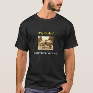 Pig Rodeo T-Shirt: Basic Dark T-Shirt