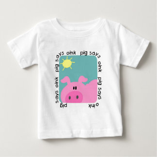 Pig Says Oink T-shirts and Gifts