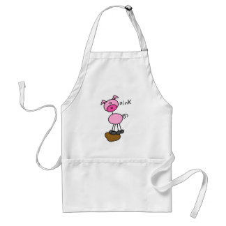 Pig Says Oink T-shirts and Gifts Standard Apron