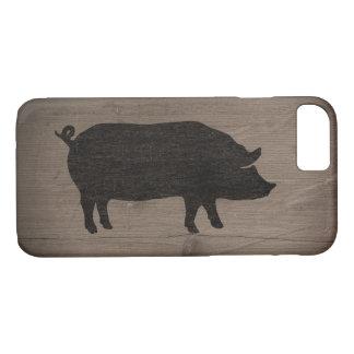 Pig Silhouette iPhone 8/7 Case