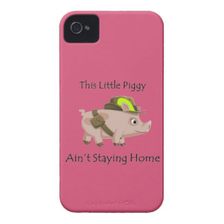 Pig This Little Piggy ain't stayin' home iPhone 4 Cover