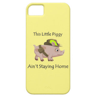 Pig This Little Piggy ain't stayin' home iPhone 5 Cases